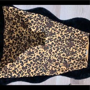 Babaton leopard skirt